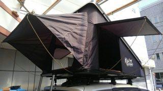 ルーフテント 三角